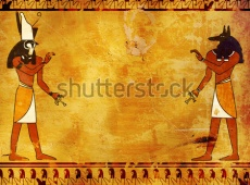 stock-photo-background-with-egyptian-gods-images-anubis-and-horus-71097481